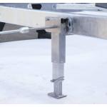 Nurkkatukipari AL-KO Click-Fix 450-710mm