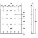 SIVULEVYPARI DH K384XL32 B190 (2KPL)